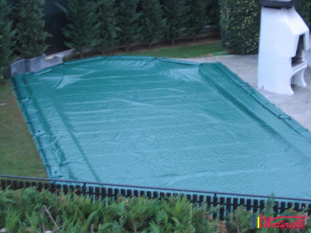 Realizziamo teloni invernali per piscine  Venturello